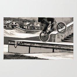 Wheelie Master  - BMX Biker Rug