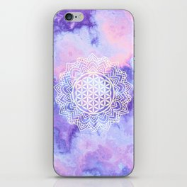 Flower Of Life (Batik 5) iPhone Skin