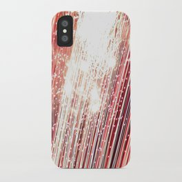 wall of red iPhone Case