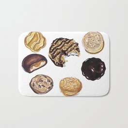 Girl Scout Cookies Bath Mat