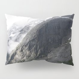 Mountain landscape #norway Pillow Sham