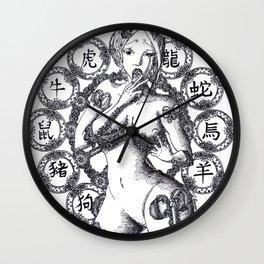 lip gloss Wall Clock
