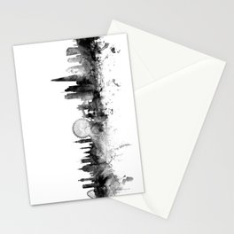 London England Skyline Stationery Cards