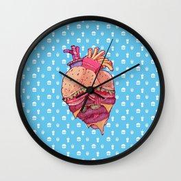Inner Fast Food Wall Clock