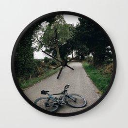 cycling wild Wall Clock