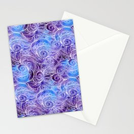 Under the deep Stationery Cards