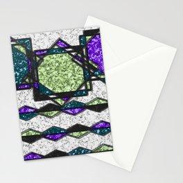 Square mingle Stationery Cards
