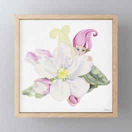 A is for Appleblossom Framed Mini Art Print