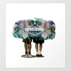 TWINS// Art Print