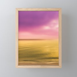 The Wave Framed Mini Art Print