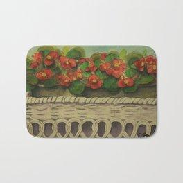 Begonias wc161104a Bath Mat