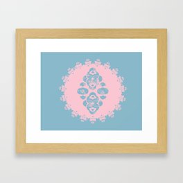 Domino East Framed Art Print
