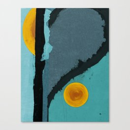 Turquoise Twelve Canvas Print