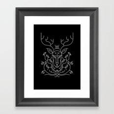 Reindeer Framed Art Print