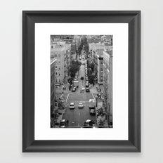 Mi Barrio, Es Su Barrio Framed Art Print