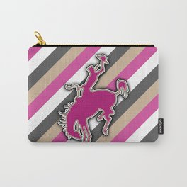 Cowgirl Bucking Horse Western Rodeo Design Carry-All Pouch