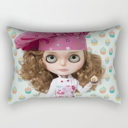 CUPCAKES BLYTHE DOLL BY ERREGIRO Rectangular Pillow