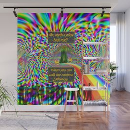 """""""The Rainbow Pathway"""" by surrealpete Wall Mural"""