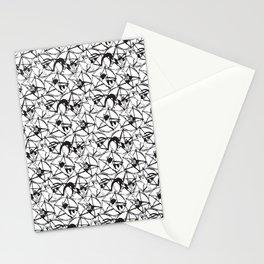 Kitties in Pentagrams Stationery Cards