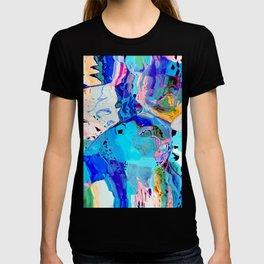 Leopard in the ocean T-shirt