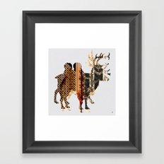 FabCreature · LaMix 3 Framed Art Print