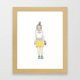 STYLISH GRANNY 1 Framed Art Print