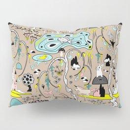 Magical Garden (Beige) Pillow Sham