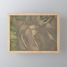 Three of Pentacles Framed Mini Art Print
