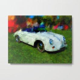 Porsche 356 Speedster Metal Print