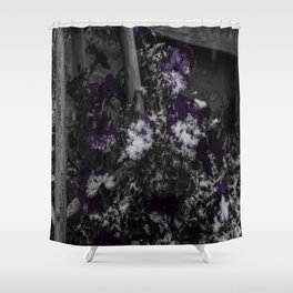 First Snow Of The Season Shower Curtain