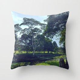 Ampang Suburban Beauty Throw Pillow