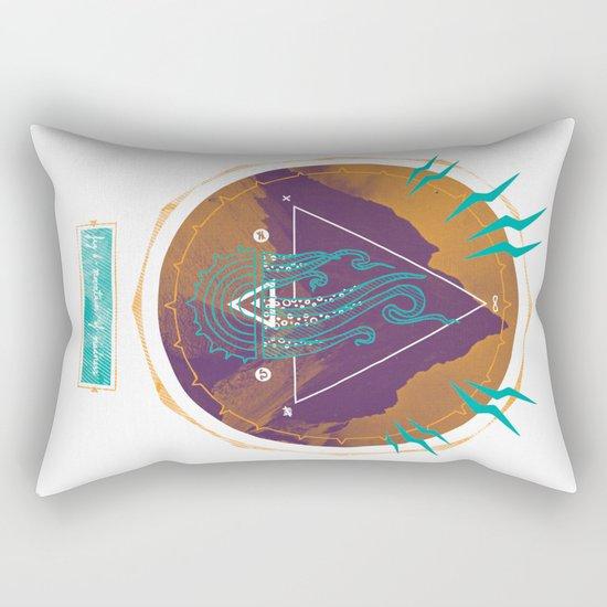 The Mountain of Madness Rectangular Pillow
