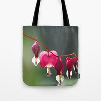 bath Tote Bags featuring Lady in a bath by UtArt