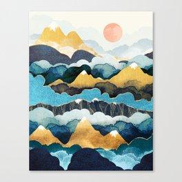 Cloud Peaks Canvas Print