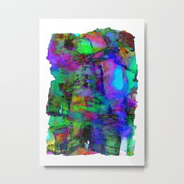 Glowing Poetry Metal Print