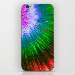Textured Starburst Tie Dye iPhone Skin