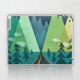 The Long Road at Night Laptop & iPad Skin