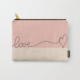 Love en Rose Carry-All Pouch