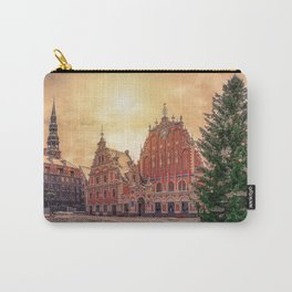 House of the Blackheads and Christmas tree Carry-All Pouch