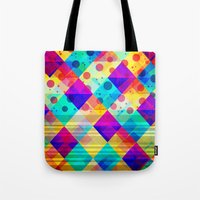 circus Tote Bags featuring Circus by Sandra Arduini