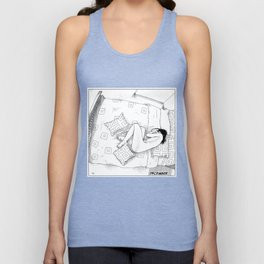 asc 547 - My New Year's resolutions - December Unisex Tank Top