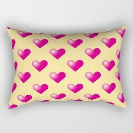 Hearts_E03 Rectangular Pillow