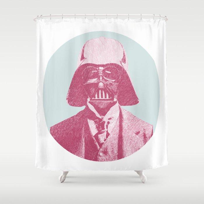 Darth Vader Shower Curtain By Njillustrations