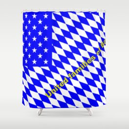 United families of Bavaria ... Shower Curtain