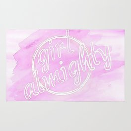 Girl Almighty Rug