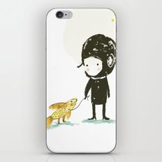 Lester, take a walk. iPhone & iPod Skin