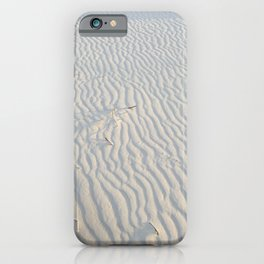 White Sands iPhone Case