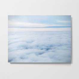 The Soft Expanse Metal Print