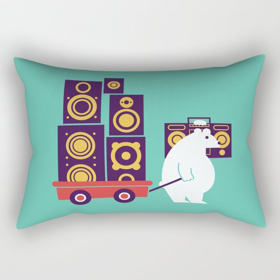 Ready to Jam Rectangular Pillow