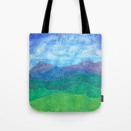 Blue Ridge Twilight Tote Bag